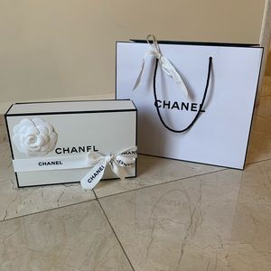 Chanel Gift Box & Bag